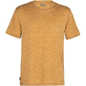Icebreaker Dowlas SS Crew Shirt Men, marrón